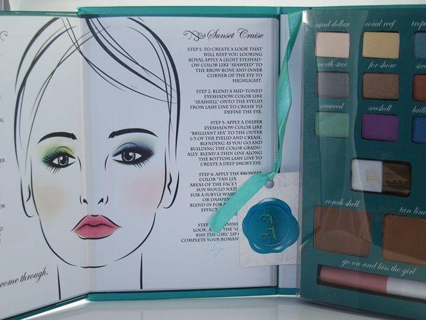 E.L.F. Disney Ariel Treasure Within Beauty Box Palette ...