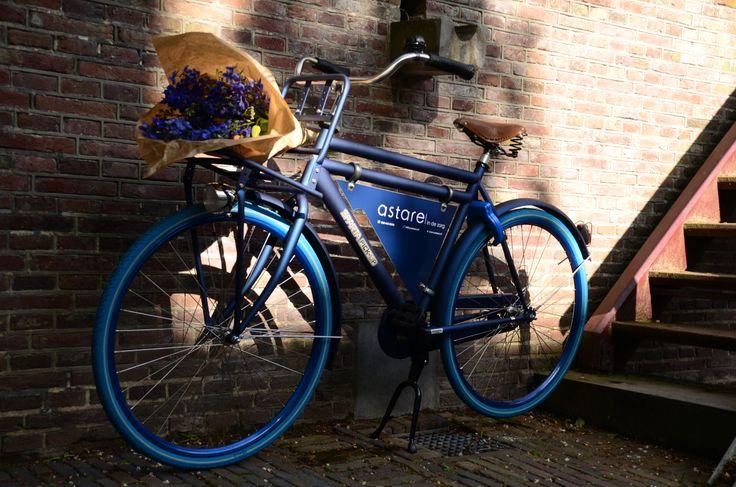 Onze nieuwe fiets. 100% duurzaam.