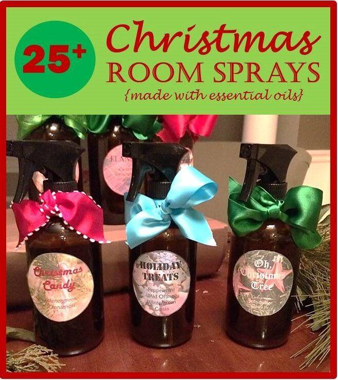 Christmas room sprays