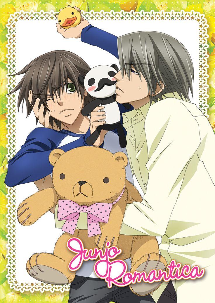 Misaki and Usagi-san (Cover of the French DVD) | Junjou ...