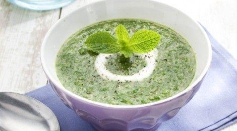 Recept Spinaziesoep NewFysic - gezonde soep