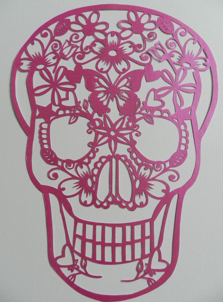 Sugar Skull Template 339 best Skull Coloring Page images on Pinterest Skulls