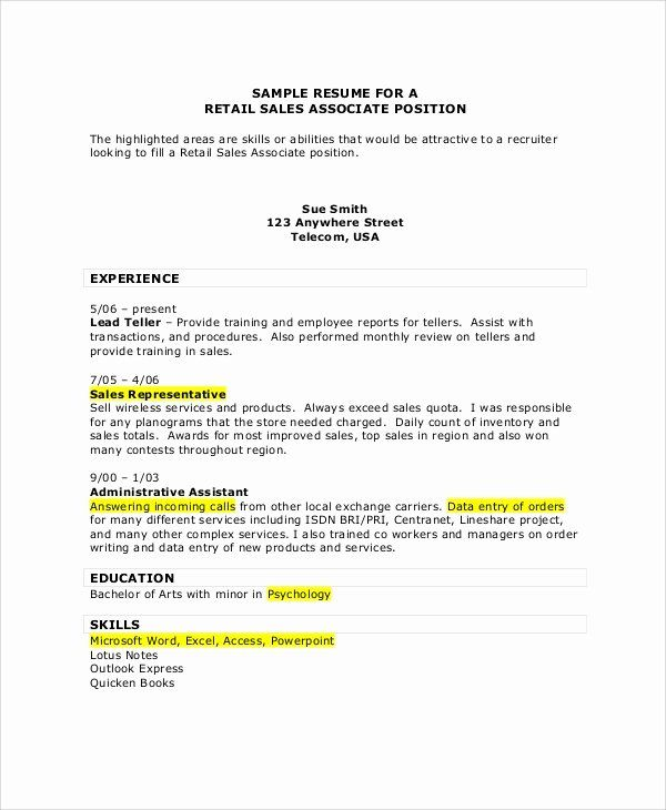 Resume Examples For Sales Associate Awesome Sample Sales Associate Resume 7 Examples In Pdf Resume Examples Sales Resume Examples Job Resume Examples