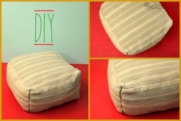 Cómo hacer cojines para sala ¡Haz click en la imagen para conocer el tutorial de www.LasManualidades.com!