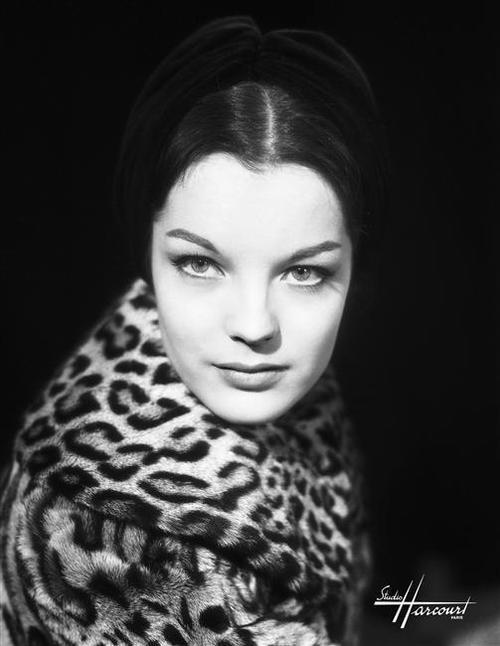 Romy Schneider by Studio Harcourt Paris, around 1960