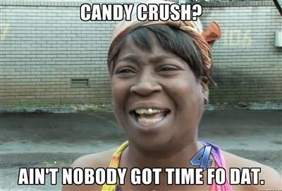 Candy Crush Humor Part Two:  Candy Crush Haters - Adult Humor  www.lilbitodisndat.wordpress.com