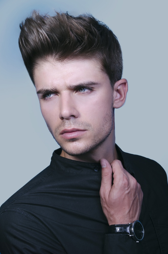 SP Men Competition entry from ROMANIA, Salon ARTIST. Loo: Bold Masculinity.
