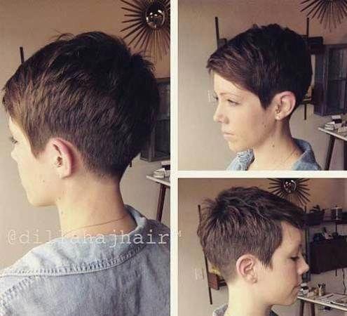 15 Ideen für kurze Pixie-Frisuren mit Gesichtern Hier sind 15 Ideen für kurze Pixie-Frisuren mit Gesichtern von Short Haircuts: Überlegen Sie, ob Sie ...