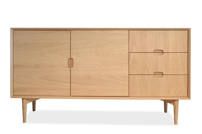 Johansen Scandinavian Wooden Buffet Cabinet Natural Interior Secrets In 2020 Buffet Cabinet Scandinavian Style Sideboard Natural Interior