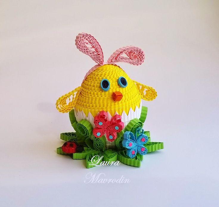 quilling my passion: Decoratiuni pt Paste/Easter decorations