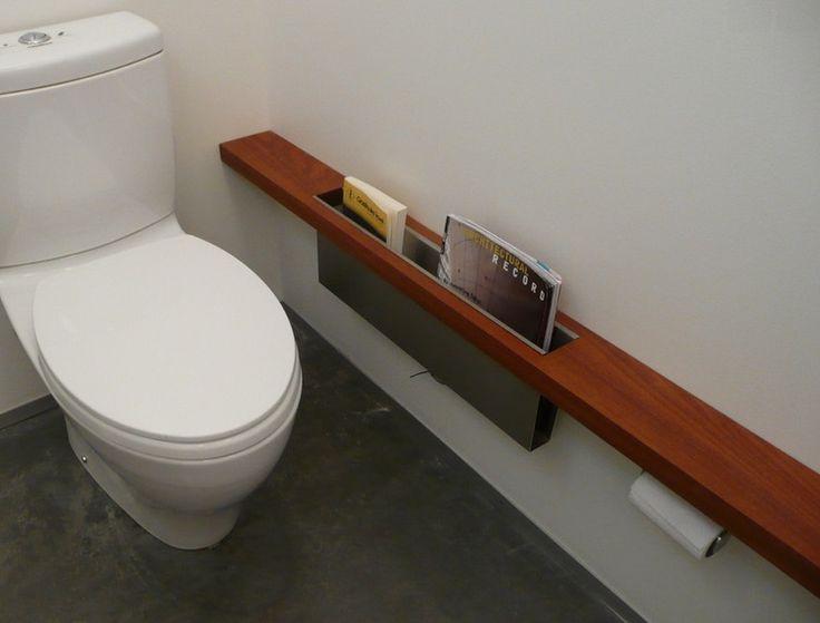 porte revue WC