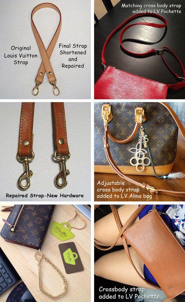 e4a3b287b389 Custom Replacement Straps   Handles for Louis Vuitton (LV) Handbags ...