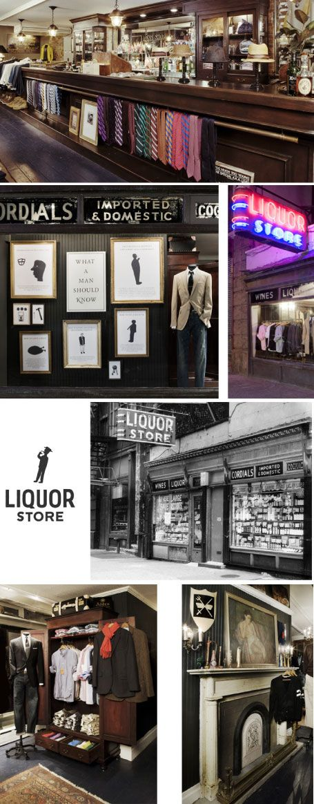 J. Crew's Liquor Store, Tribeca… check out that tie display! Creative 101. #NYC #MensWear #Retail