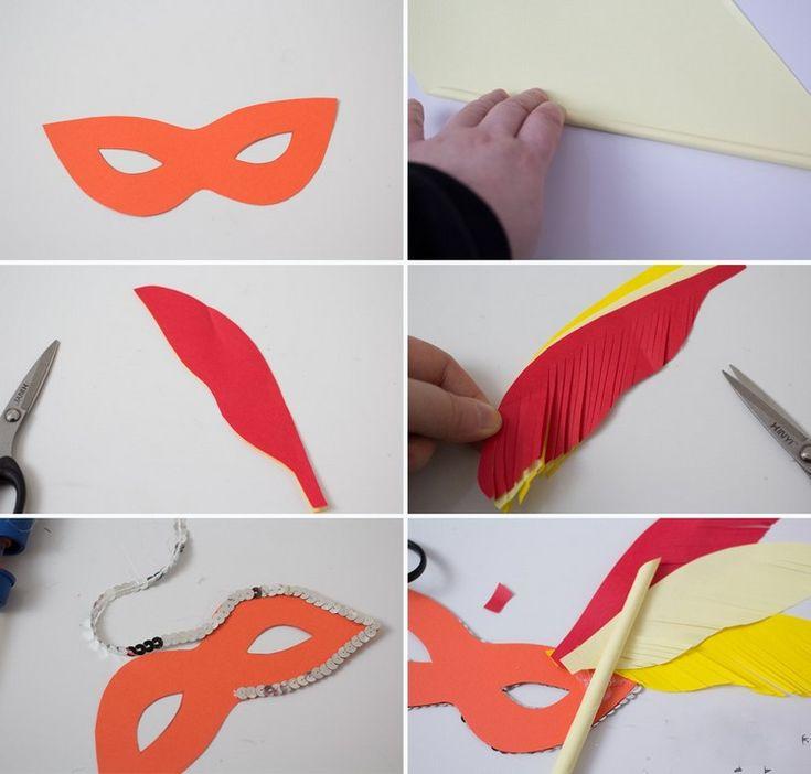 Basteln Am Kindergeburtstag Die 7 Besten Ideen Focusde: Die Besten 25+ Masken Basteln Ideen Auf Pinterest