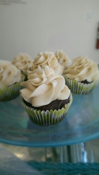 Chocolate Citrus gluten free cupcskes