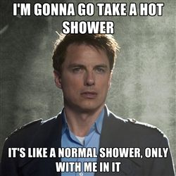 Captain Jack Harkness- because, seriously, Jack Harkness!