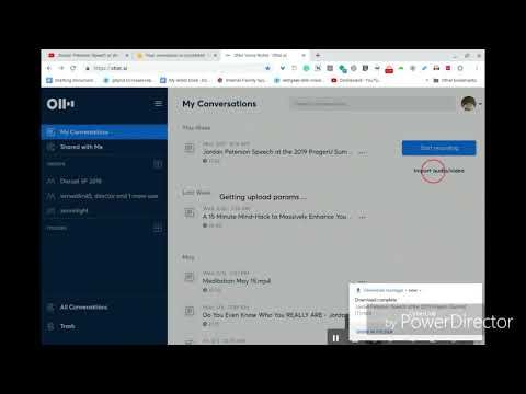 Converting from YouTube to Transcript - YouTube | Otter User