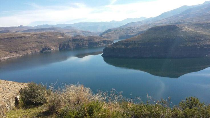 Katse dam. Lesotho.