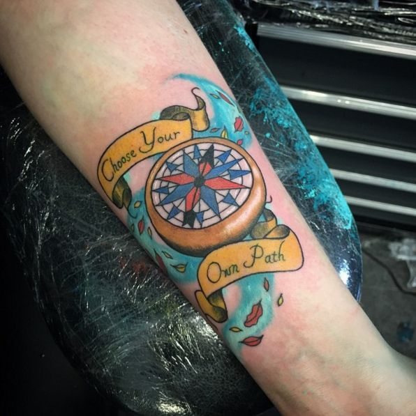 """This iconic compass: 