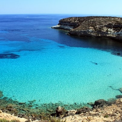 Did you guys know that the Rabbit Beach, Lampedusa, Italy is thought to be the most beautiful beach in the world? #lampedusa #sicilia #sicily #lsicilia #lampedusa #sicily