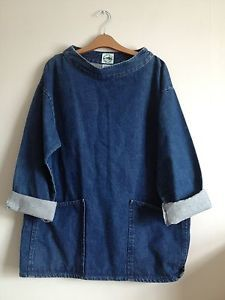 I don't know why I like this so much... Fishermen's smock, denim