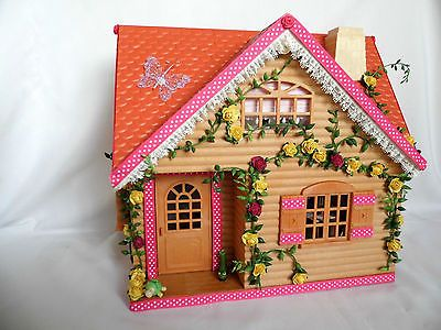 sylvanian-families-cath-kidston-decorated-and-furnished-cottage-plus-extras