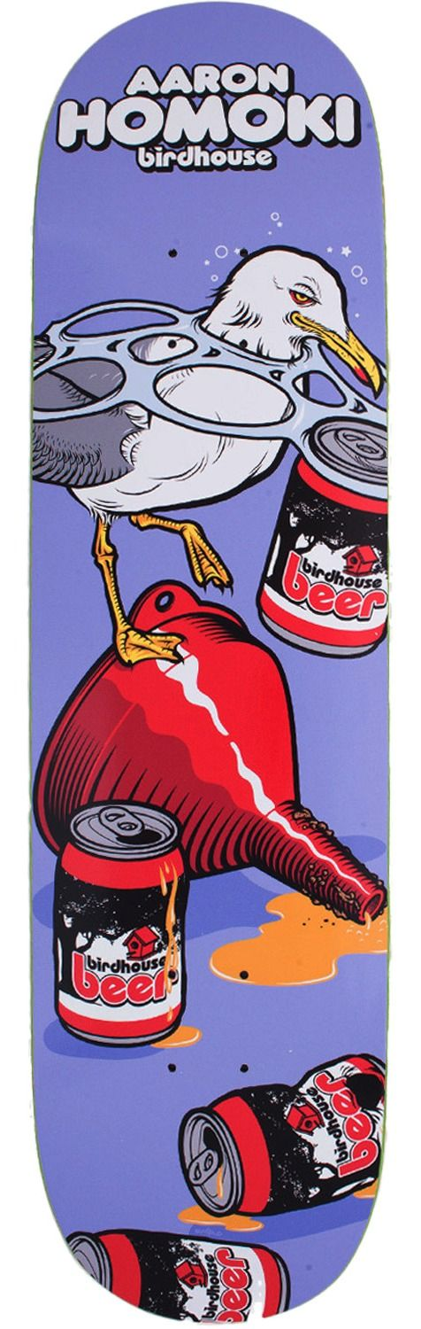 Birdhouse Skateboards Jaws Homoki Fowl Skateboard Deck