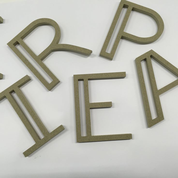 Signage by our CNC technicians for a retail client.