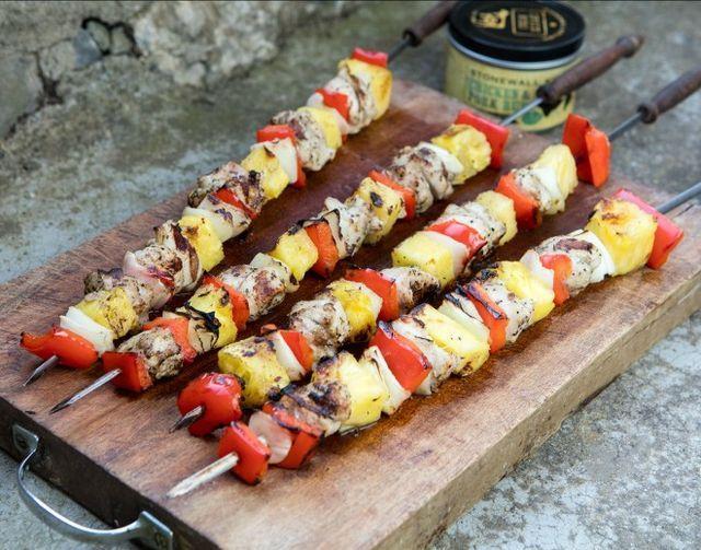 Spiedini di pollo e ananas   Un'americana in cucina   Bloglovin'