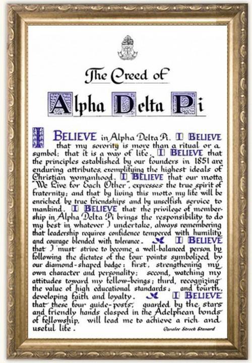 alpha xi delta initiation ritual