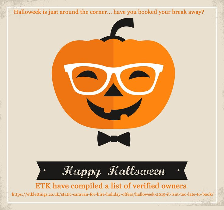 """Haven't booked your Halloween Half Term break yet?   Take a look at some fantastic offers from the Verified Owners at ETK Lettings.    Follow this link (or copy to your browser) :   https://etklettings.co.uk/static-caravan-for-hire-holiday-offers/halloweek-2015-it-isnt-too-late-to-book/  Just click on the """"view owners caravan"""" button to be direct to their caravan page for more information, pictures and access to their full, interactive availability calendar."""