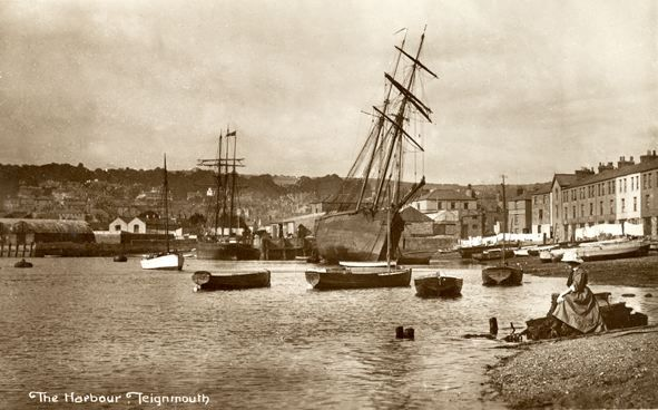Harbour-Teignmouth - Turn of the 20th century