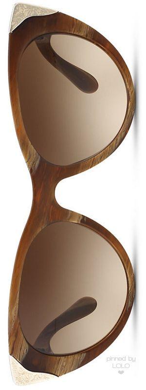 Ralph Lauren Western Cat Eye Sunglasses   LOLO: