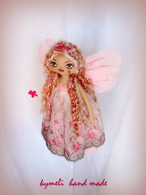'Flower Fairy' OOAK Art Doll by kymeli