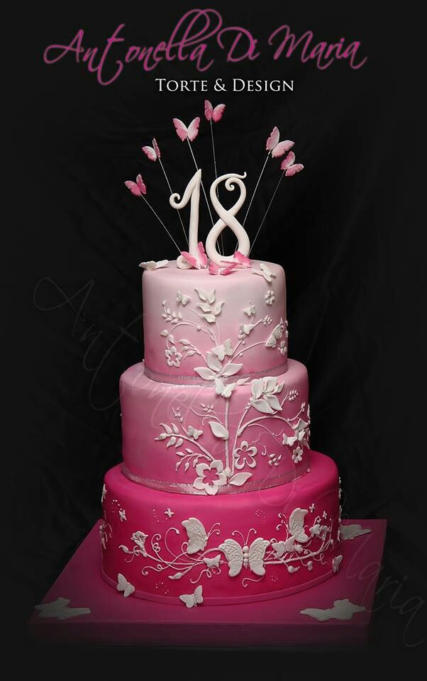 Cake Design For Debut : 17 Best images about ariels 18th cake on Pinterest ...