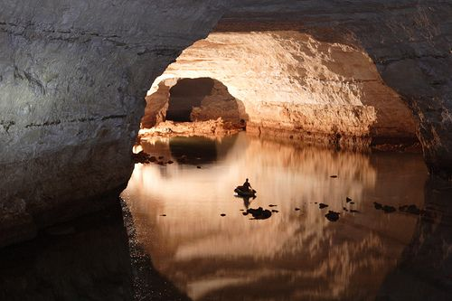 Koonalda Cave, Nullarbor Plain, South Australia