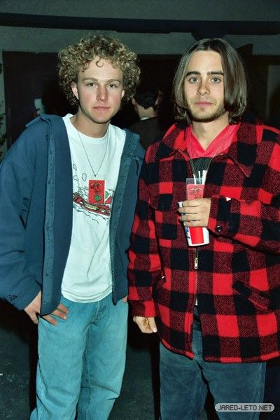 Jared Leto and Devon Gummersall are Jordan Catalano and Brian Krakow in My So-Called Life