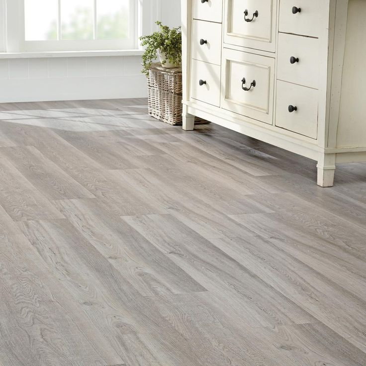 Home Decorators Collection 7.5 in. x 47.6 in. Coastal Oak Luxury Vinyl Plank Flooring (24.74 sq. ft. / case)