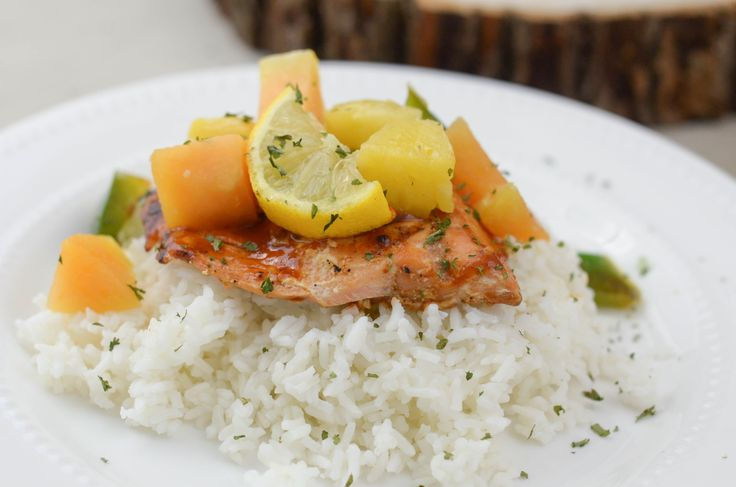 I am sharing with you Maple BBQ Glazed Salmon that is grilled with Stubb's BBQ Sauces. This is the perfect summer grilling recipe.