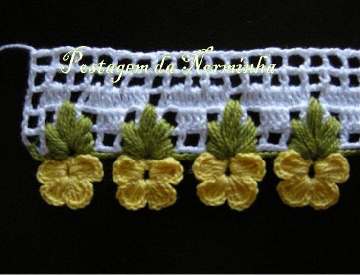 WORKSHOP OF BARRED: Croche - A new Barradinho ...
