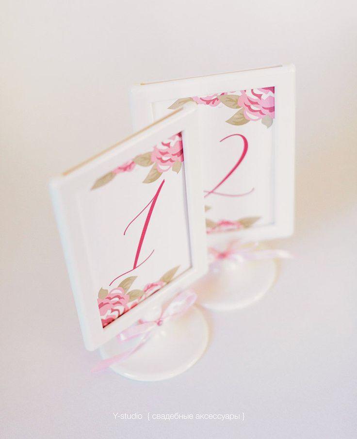 Фото 3197209 в коллекции Карточки рассадки & Номера столов - Y-studio - приглашения и аксессуары