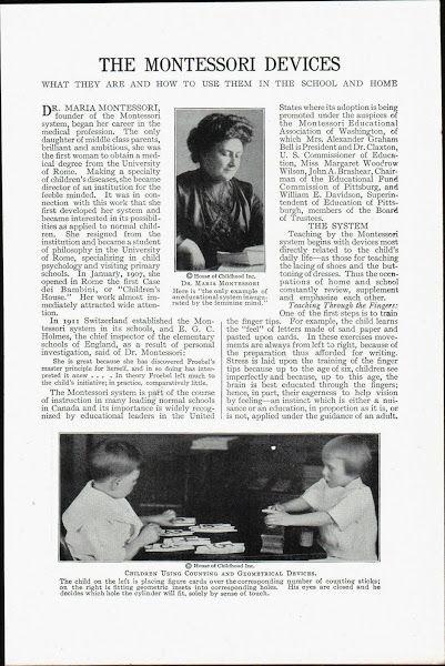 Montessori: A Message in the Method