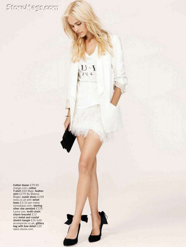 Love this all white ensemble ... @Jantzen Verastique, this is what I was talking about... idk if it'll help. :)