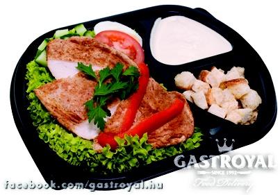 Hagyományos Cézár saláta  http://www.gastroyal.hu/rendeles/etlap