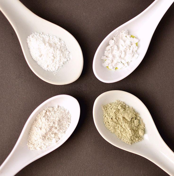 Pickel-Killer-Puder (grüne Tonerde, weiße Tonerde/Kaolin, Kieselerde, optional Zinkoxid)