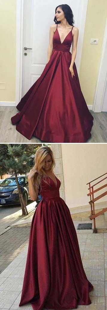 Prom Dresses Long,Long Prom Dress,Prom Gowns,Gowns Prom,Cheap Prom Dresses,Party Dresses,Evening Dresses,Long Prom Gowns,Fashion Woman Dresses,Prom Dress,Prom Dress for Teens,Prom Dress Ball Gown,Mermaid Prom Dresses,Prom Dress 2017,Prom Dress UK,Simple A-Line V-Neck Prom Dresses, Burgundy Long Prom Dresses, Cheap Floor Length Prom Dresses, Red Long Party Dresses, Simple Prom Dresses