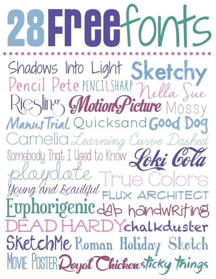 Download 405 best Cricut Fonts images on Pinterest   Letters ...