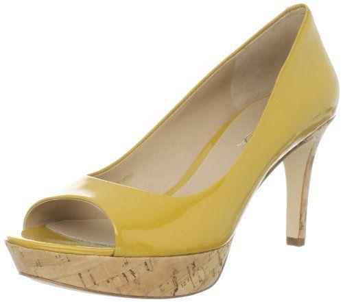 likeAlexis Peep To, Design Shoes, Perfect Httpbitlyhdrmba, Peeptoe Pump, Yellow Shoes, Hello Yellow, Women Alexis, Spiga Women, Peep To Pump