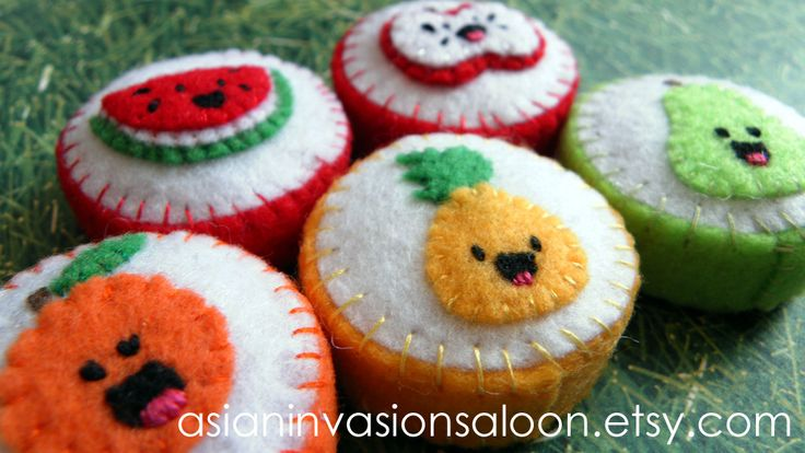 Happy Fruit Plastic Bottle Cap Magnet Set | Flickr - Photo Sharing!