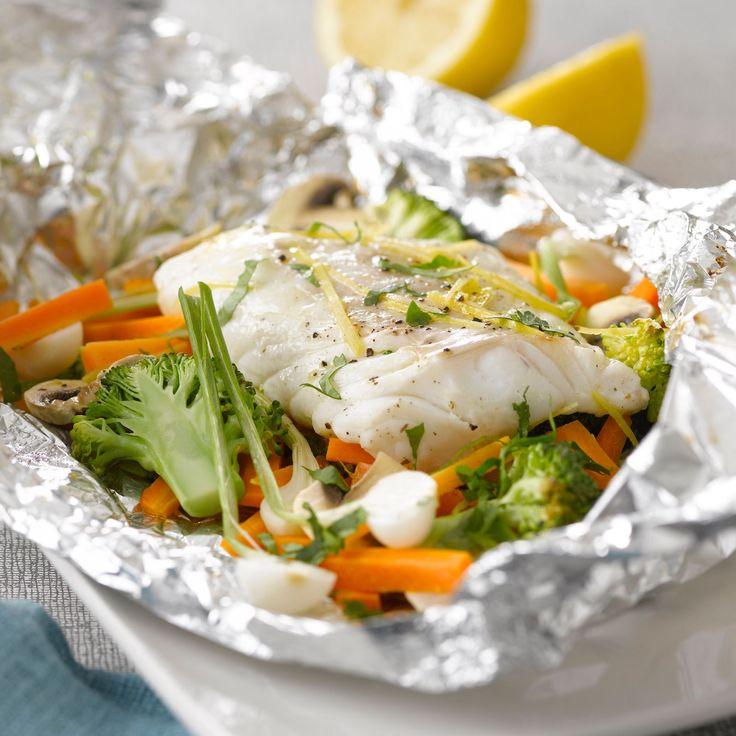 Les 25 meilleures id es de la cat gorie papillote de poisson sur pinterest cuisson saumon - Saumon papillote au four ...